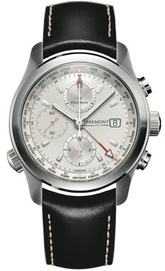 Bremont Kingsman Special Edition Steel #bezel-fixed #bracelet-strap-leather…