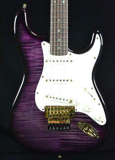 Fender Masterbuilt Yuriy Shishkov Custom Shop FMT Stratocaster with Floyd Rose