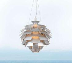 Designerska LAMPA wisząca STEP ST-9021S SILVER metalowa OPRAWA zwis ananas srebrny