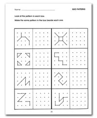 Worksheets Free Printable Visual Perceptual Worksheets 1000 images about creative thinking visual perceptual skills on patterns unit 3