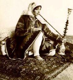 Qajar Woman, Persia