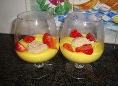 Sabayone met ijs en aardbeien in de thermomix, Recepten - Nagerechten, Gette.org