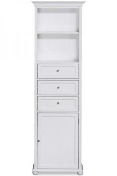 Fresh Linen Cabinet White Fieldcrest