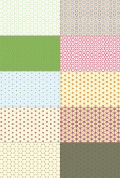 10 ABSTRACT PATTERNS