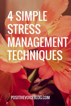 Simple tips for reducing stress