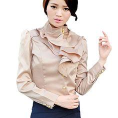 Partiss Women Long Sleeve Fashion OL Shirt,XS,Apricot(653A) Partiss http://www.amazon.co.uk/dp/B00UN7E17I/ref=cm_sw_r_pi_dp_yHQbvb1N32SKT