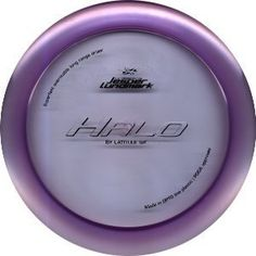 Opto Line Halo 170-176g by Latitude 64. $12.95. HALO is a high speed long range driver with excellent speed and distance. This is the longest driver we've produced. The wide weight span will make it fit in many players bags, from pros to amateurs. For a hundred meter toss it feels stable and consistent.  Please contact us by email for more specific weight or color requests.