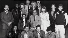 HILL STREET BLUES  pictured (l to r) Rene Enriquez, Taurean Blaque, Barbara Babcock, Michael Conrad, Betty Thomas, Ed Marinaro, Barbara Bosson, Charles Haid, James B. Sikking, Veronica Hamel, Daniel J. Travanti, Michael Warren, Kiel Martin, Joe Spano and Bruce Weitz