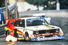 Hans-Joachim Stuck in his BMW 320 Gp 5 in x in Bmw 318i, Bmw Z3, Bmw Isetta, Bmw Cars, Chip Foose, Audi Tt, Bmw Turbo, Opel Gt, Jaguar Sport