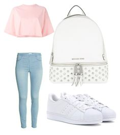 """""""Style"""" by bleuxxgirl on Polyvore featuring Puma, adidas and MICHAEL Michael Kors"""