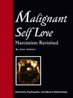 Got to read - The Malignant Narcissist It is safe for your to read it. If you discover that your boyfriend, colleague or friend is a narcissist,  run away.  Don't give them any reason, just go away and forget.