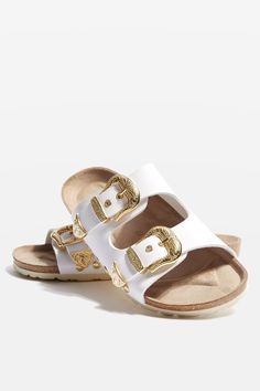 FALCON Buckle Sandals - Topshop USA