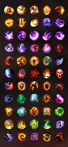 Game Gui, Game Icon, Game Ui Design, Icon Design, Elemental Powers, Harry Potter Games, Game Textures, Game Props, Game Interface