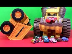 ▶ Cars 2 Screaming Banshee Tipping Colossus Micro Drifters Cars Disney Pixar cartoys Disneycollector - YouTube