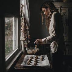 An Early Morning Walk - grace–upon–grace: Tiffany Mitchell Tiffany Mitchell, Foto Portrait, Cooking Photography, How To Make Cookies, Making Cookies, Slow Living, Farm Life, Countryside Kitchen, Country Kitchen
