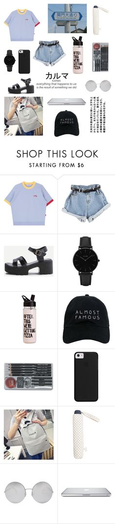 """""""School with/as yoongi/yoonji"""" by btssuga02 ❤ liked on Polyvore featuring CLUSE, ban.do, Nasaseasons, MANGO and Victoria Beckham"""