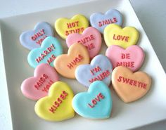 SugarBliss Cookies: Valentine's Day