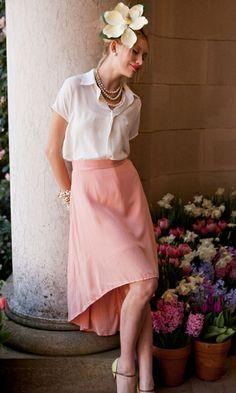 Cherry Blossom Skirt #shabbyapple