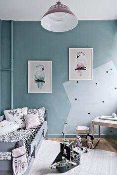 wall painting, nursery room
