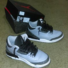 983d68fae2bd 14 Best wolf grey 3s jordan for sale images