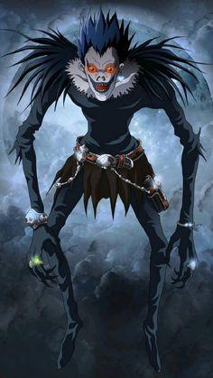 Death Note Ryuk, Death Note Fanart, L Death, Death Art, Cosplay Death Note, Shinigami, Otaku Anime, Anime Disney, Death Note Light