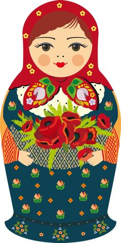 Find Russian Doll stock images in HD and millions of other royalty-free stock photos, illustrations and vectors in the Shutterstock collection. Matryoshka Doll, Kokeshi Dolls, Russian Folk Art, Russian Culture, Doll Painting, Illustration, Thinking Day, Little Doll, Wooden Dolls