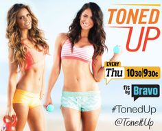Toned Up Premieres Tonight on Bravo! : Tune in to watch two of SELF's all-time favorite trainers, beach babes Karena and Katrina, as they turn their Tone It Up company into a fitness empire. #SelfMagazine