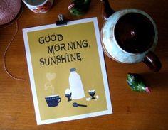 Good Morning Sunshine ....thesmalljoys