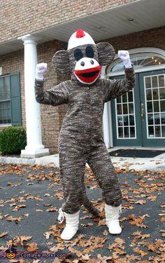 VOTE FOR ME HERE! Sock Monkey - 2013 Halloween Costume Contest via @costumeworks
