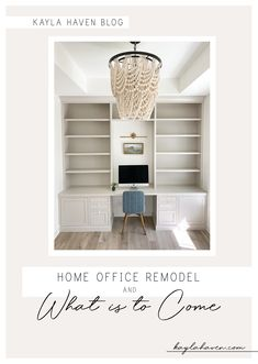 Custom builtins for our home office and what is to come. Home Office Design, Home Office Decor, Home Decor Bedroom, Office Ideas, Industrial Home Offices, Office Built Ins, Inset Cabinets, Home Decor Inspiration, Decor Ideas