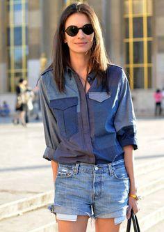 ::: OutsaPop Trashion ::: DIY fashion by Outi Pyy ::  Denim patches & pieces