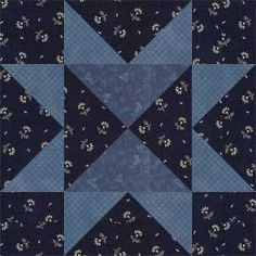 SAWTOOTH VARIATION, 3″, Dark The plain star for this block is called merely Nameless Star (Nancy Cabot), Sawtooth (Farm and Fireside, 1884; Hall, 1935) or Sawtooth Star (Dubois, 1978 or 1979). I have