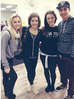 Victoria, Brittany, Jennifer and Trevor