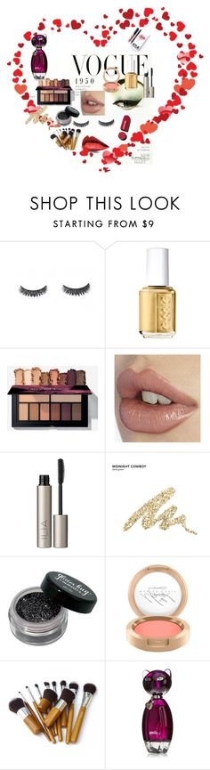 """gotta love the makeup!"" by arneela ❤ liked on Polyvore featuring beauty, Essie, Ilia, Kylie Cosmetics, Urban Decay, Chanel and makeup"