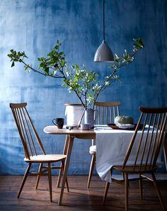 En primavera 2016 decorar con azul Snorkel es tendencia en decoración…