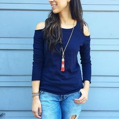 Get the adorable Brio Tassel Necklace HALF OFF when you first spend $50 in a trunk show! Use the link in my bio to unlock this deal! #stelladotstyle