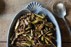 Spicy Oven-Roasted Okra, a recipe on Food52
