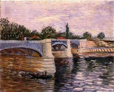 The Seine with the Pont de la Grande Jette - Vincent van Gogh