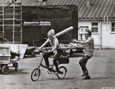 Rides a Bike