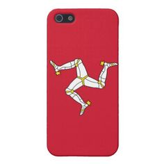 IPhone 4 Case with Isle of Man Flag UK - elegant gifts gift ideas custom presents
