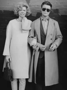 Tilda Swinton and David Bowie as each other.