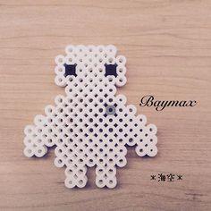 Baymax perler beads by kaisora0_0