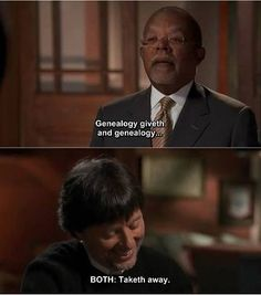 I love Ken Burns... He may be a distant cousin of mine...