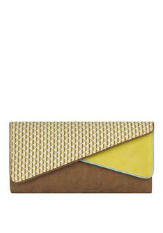 e09ad7edac45ab Ruby Shoo Sydney Printed Twin Flap Clutch Bag