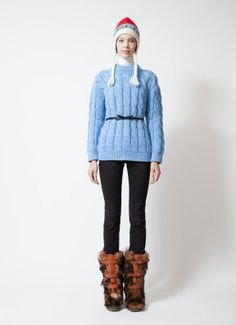 Prada Cable Knit Sweater | www.resee.fr