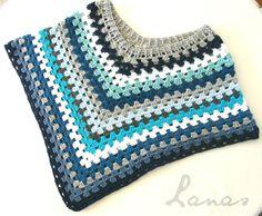 Lanas de Ana: My First Poncho