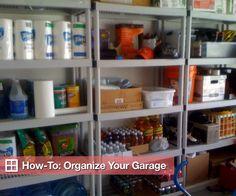 diy garage organization ideas - Google Search
