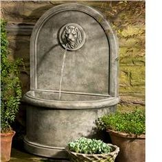Buy Lion Wall Fountain online with free shipping from thegardengates.com