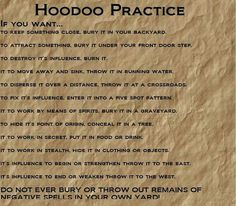 That last one, important safety tip. PP: Hoodoo Practice --- interesting Hoodoo Spells, Magick Spells, Gypsy Spells, Healing Spells, Voodoo Hoodoo, Eclectic Witch, Witch Spell, Practical Magic, Book Of Shadows