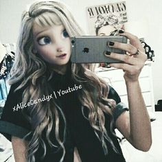 Modern Elsa edit by Alice D&D | Youtube